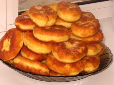 Рецепт жареных пирожков с мясом