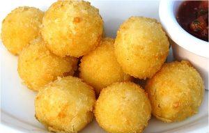 Картофельно сырные шарики рецепт