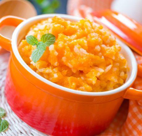 Каша с тыквой пшеном и рисом рецепт