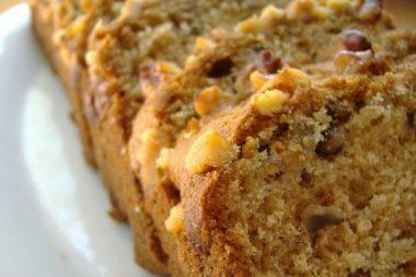 Кекс с орехами рецепт с фото