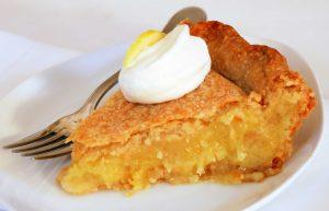 Песочный лимонник пирог