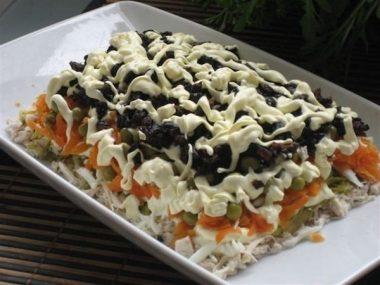 Салат прага рецепт