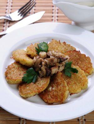 Деруны из картошечки