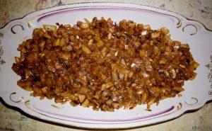 салаты с грибами березка
