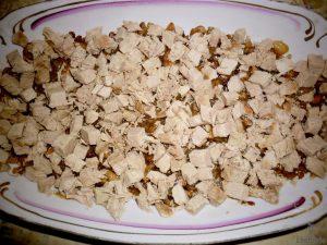 рецепт салата березка с курицей