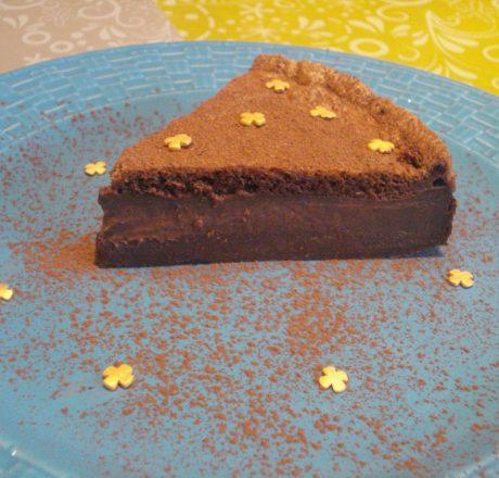 Пирог с шоколадным суфле
