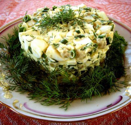 Салат «Зелёный пень»