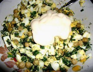 салаты с яйцами рецепты