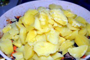 рецепты картофель грибы фото