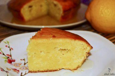 Пирог из лимонов
