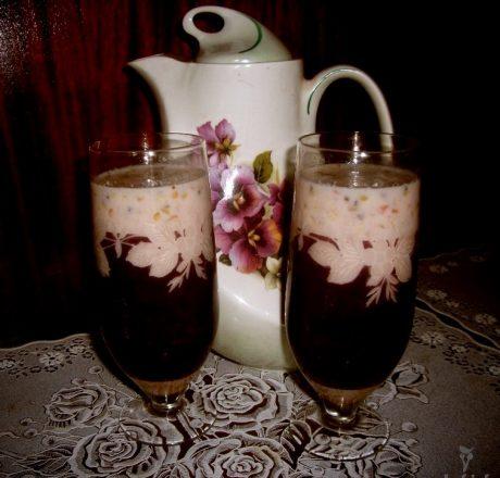 Фруктово-молочный коктейль