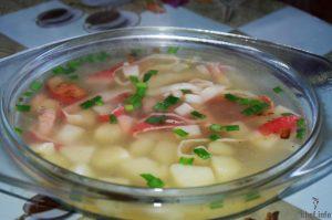 Суп «Обеденный краб»