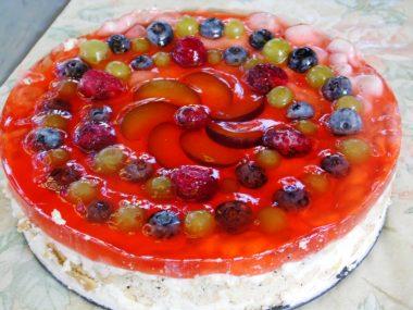 Торт «Дары лета»