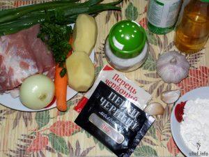 тушеный картофель рецепт