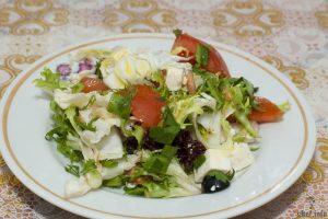 салат весенний