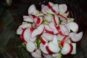 рецепт салата вкусный из овощей