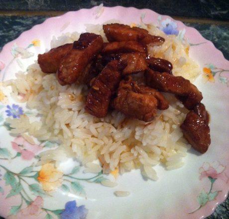 Свинина по-азиатский