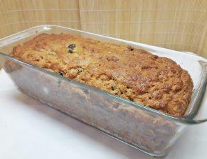 Творожный кекс с черносливом