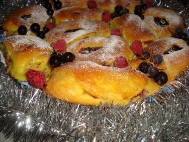 Пирожки «Малиновый вечер»