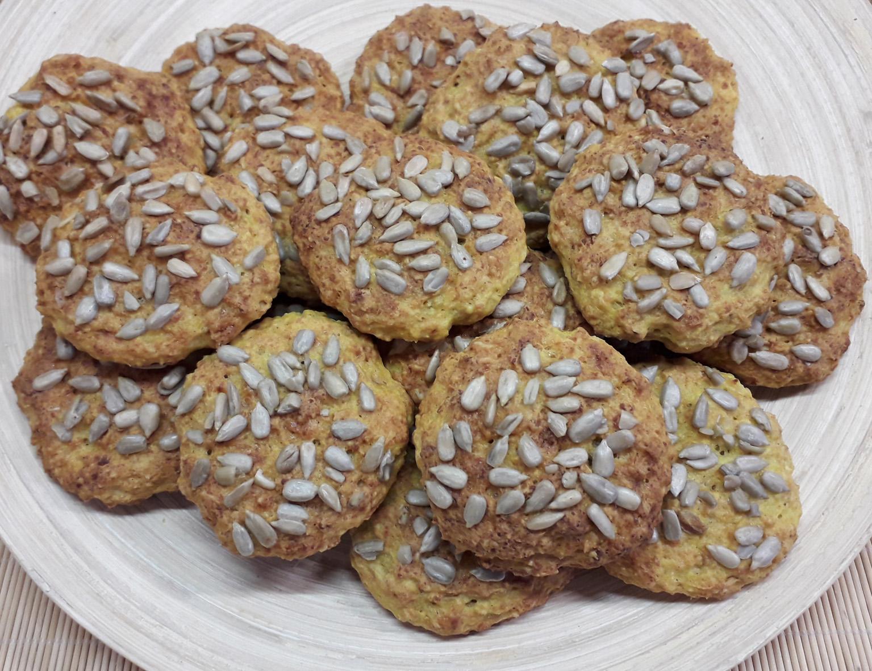Творожное печенье с семечками «Четыре пользы» — рецепт с ...
