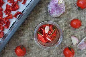 Подготовка томатов для сушения