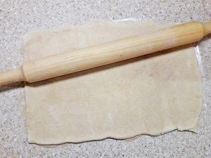 скумбрия в слоеном тесте