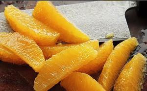 Филе апельсина на ноже