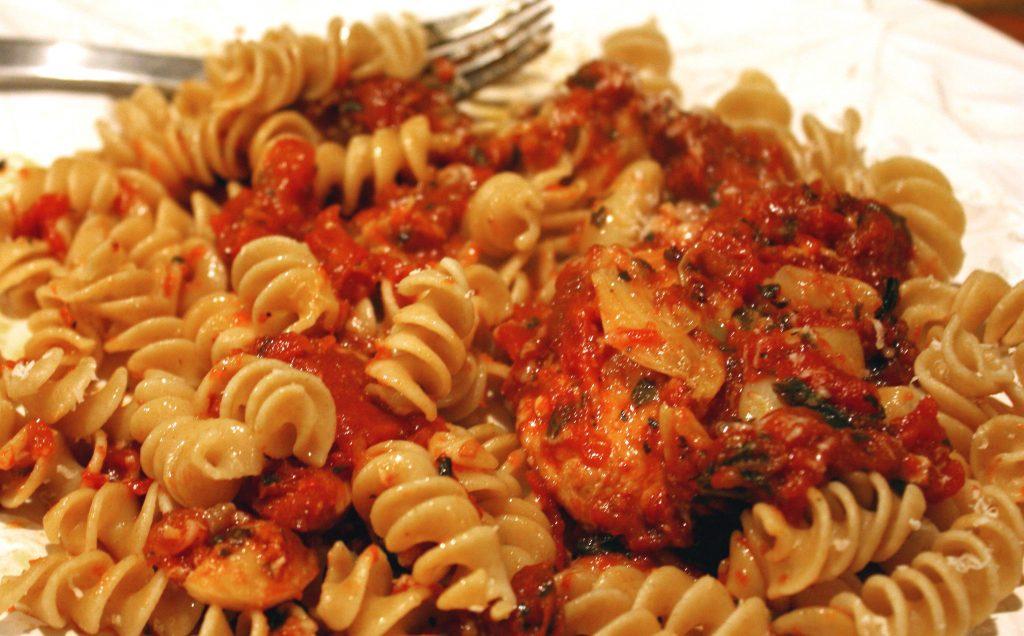 Вторые блюда из макарон - пошаговых рецептов с фото.