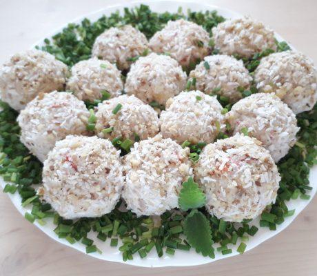 закусочный порционный салат