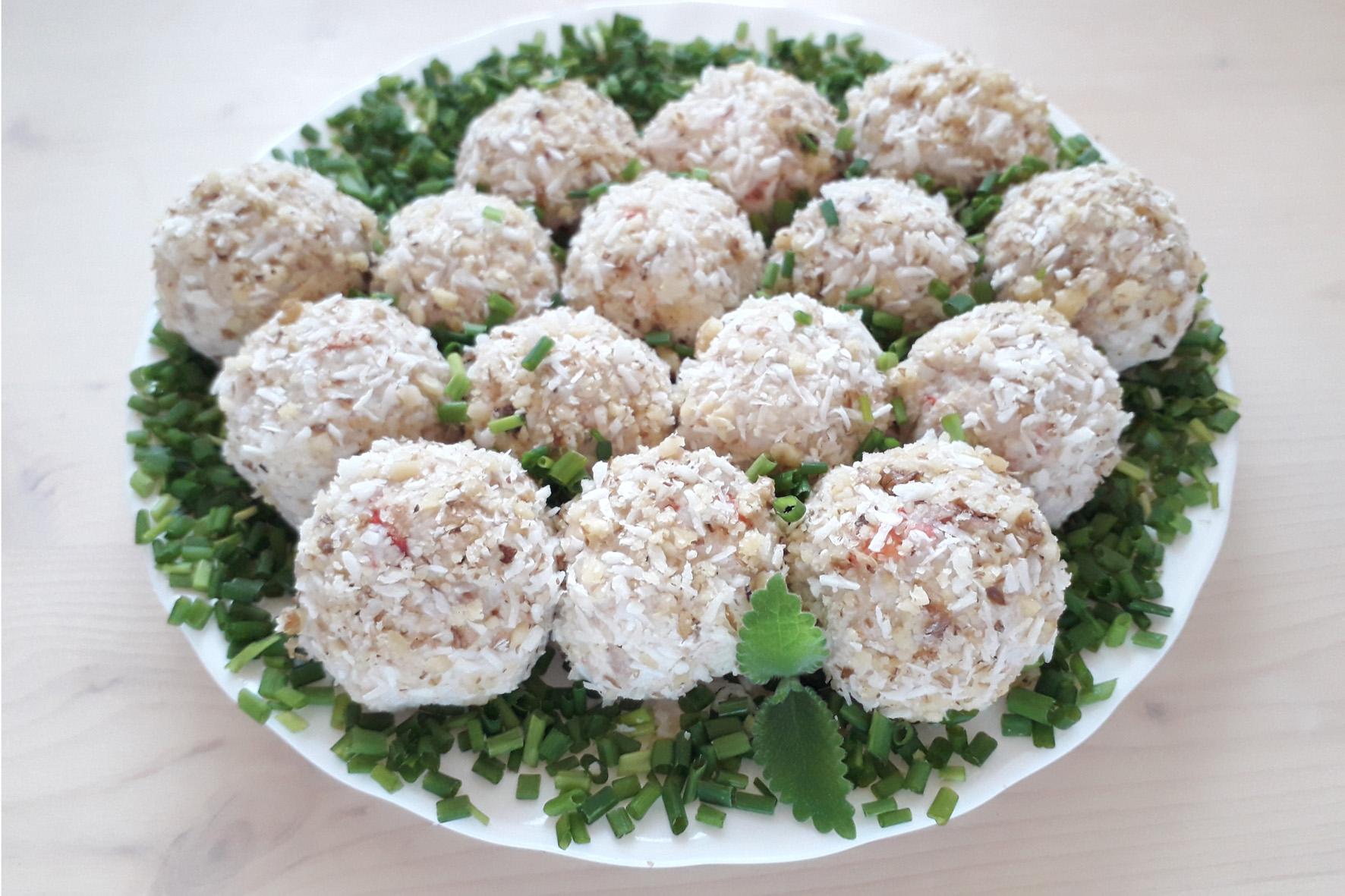 них картинку, салаты шарики рецепты с фото плотная крона