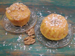 манные кексы с мандарином