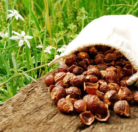 Мыльные орехи в мешочке