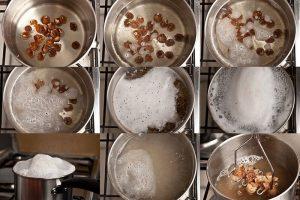 Приготовление мыльных орехов