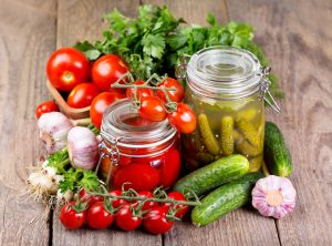 Засолка овощей