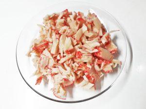 праздничный салат с красной икрой