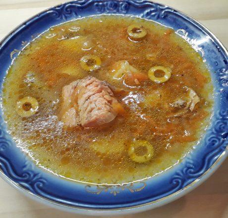 итальянский суп из форели