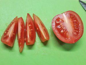салат авокадо-хурма-руккола