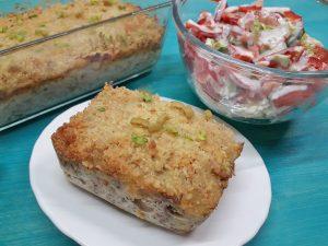 тунец запеченный с макаронами