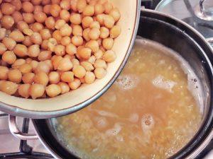 чечевичный суп с нутом
