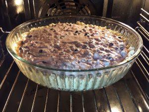 чернично-творожный тарт