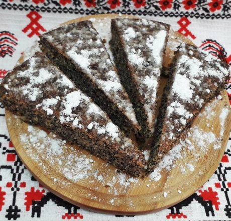 простой маковый пирог