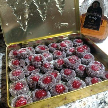 Шарики вишневого рома