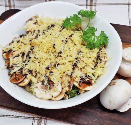 салат шампиньоны с сыром