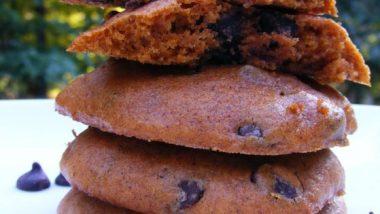 Тыквенное шоколадное печенье III