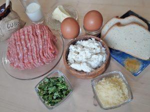 Суфле мясное с творогом
