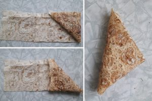 Пирожки треуголки из лаваша