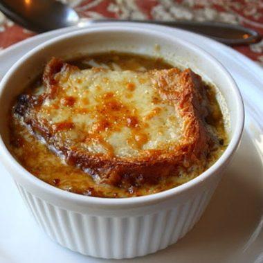 Американский французский луковый суп