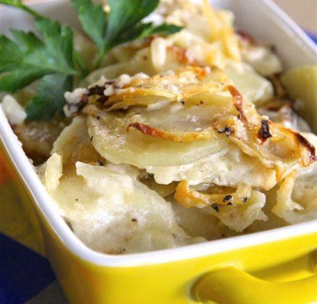 Запеченный картофель от мамы