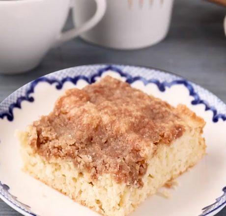 Утренний кофейный пирог