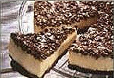 Чизкейк с шоколадной стружкой
